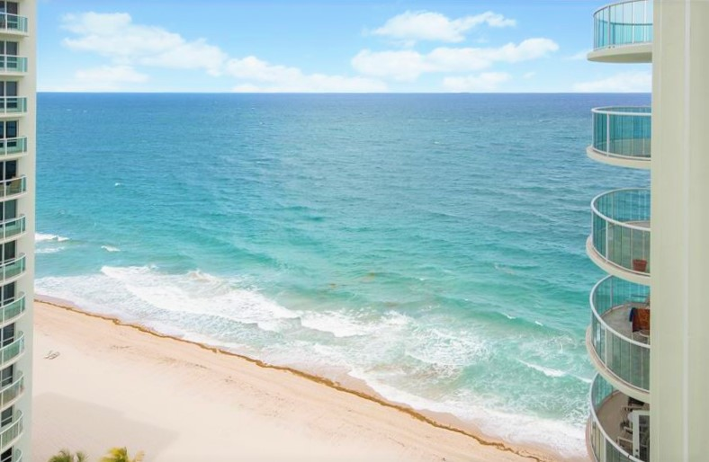 View Fort Lauderdale oceanfront condo for sale Southpoint Galt Ocean Mile