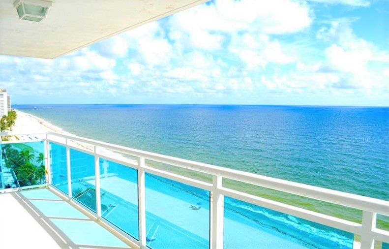 View Fort Lauderdale oceanfront condo for sale The Commodore Galt Ocean Mile