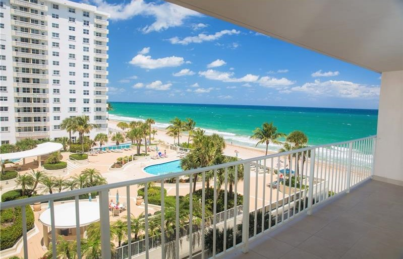 View Fort Lauderdale oceanfront condo for sale The Galleon Galt Ocean Mile