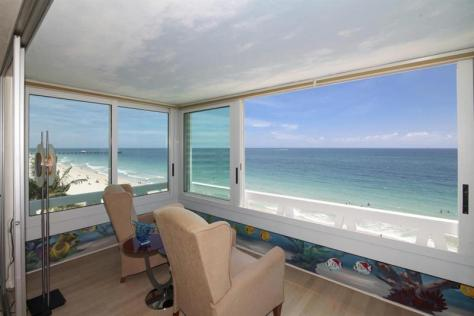 Oceanfront views Galt Ocean Mile condo just listed for sale Fountainhead - Unit 5D