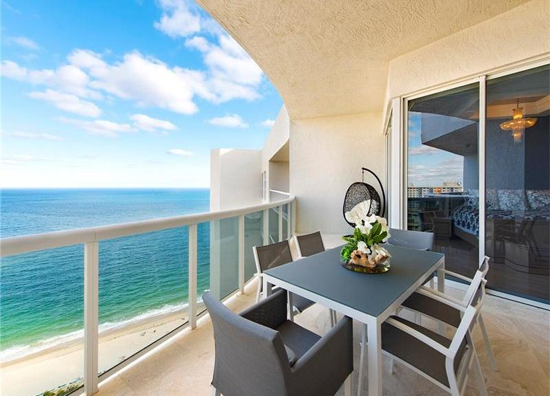 View 3 bedroom Galt Ocean Mile condo for sale L'Hermitage Fort Lauderdale