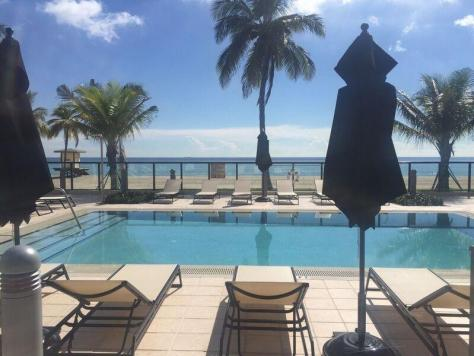 View from a Fort Lauderdale Pet Friendly Condo for Sale that welcomes Pets over 20lbs