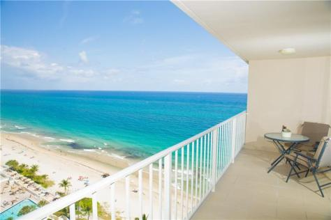 Oceanfront views Galt Ocean Mile condo recently sold The Galleon - Unit 1709
