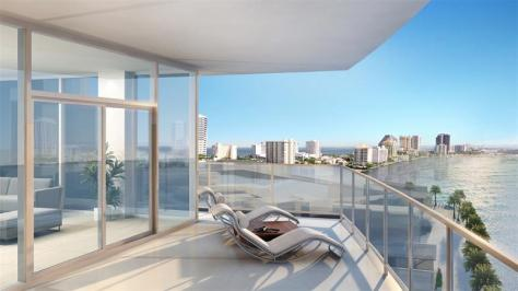View from a luxury Fort Lauderdale condo for sale in Adagio