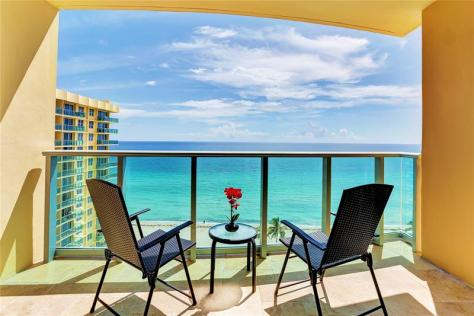 Ocean views pet friendly condo for sale in Greater Fort Lauderdale