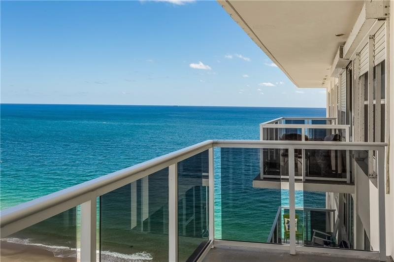 View from one of the Royal Ambassador Galt Ocean Mile condos for sale - Address: 3700 Galt Ocean Dr, Fort Lauderdale, FL 33308