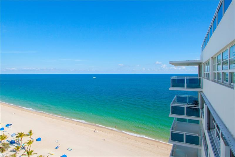 View from one of The Commodore Galt Ocean Mile condos for sale -3430 Galt Ocean Dr, Fort Lauderdale, FL