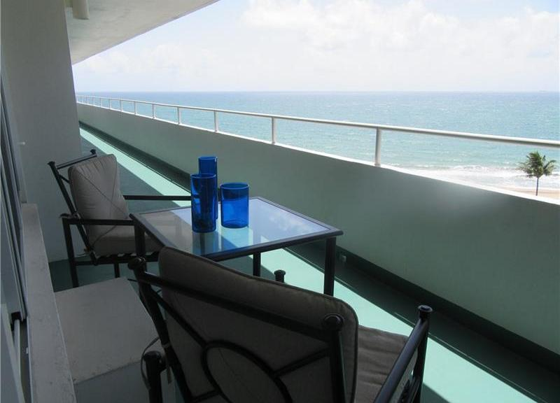 View from one of the Caribe condos Lauderdale by the Sea sold in 2017 - Unit 907
