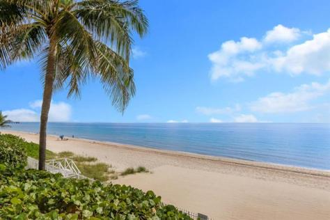 Beach views L'Ambiance Galt Ocean Mile condos for sale Fort Lauderdale
