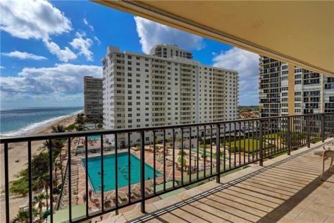 View Plaza South Galt Ocean Mile Condos Unit pending sale Unit 6P