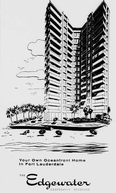 Rendering Edgewater Arms Galt Ocean Mile Fort Lauderdale FL