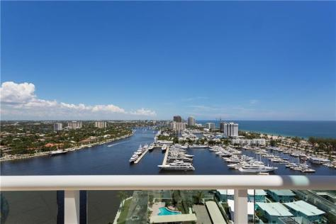View luxury Fort Lauderdale penthouse sold in 2017 - Harbourage Place