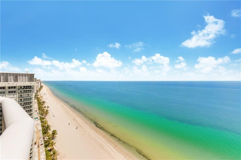 Ocean views L'Hermitage 3100 N Ocean Blvd Fort Lauderdale condo for sale