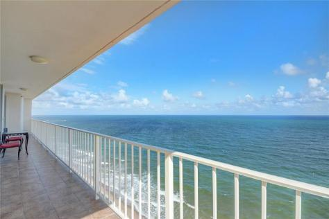 View from a Galt Ocean Mile condo for sale in The Galleon