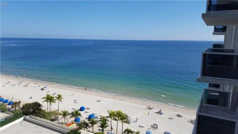 Look at the view from this Galt Ocean Mile condo pending sale - Unit 1115
