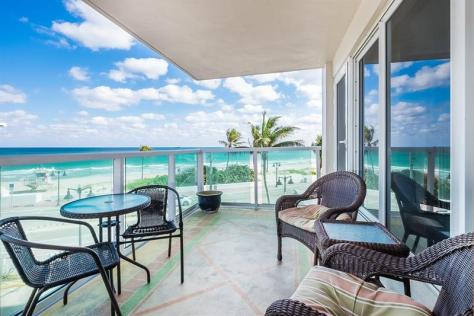 View Pet Friendly Oceanfront condo for sale
