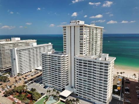 View Playa del Mar condominium 3900 Galt Ocean Drive Fort Lauderdale Florida