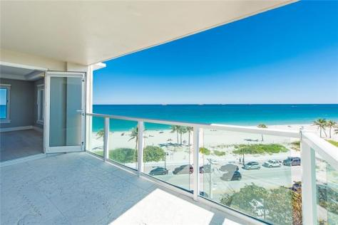 View 2 bedroom Fort Lauderdale oceanfront pet friendly condo for sale - Dogs Welcome!