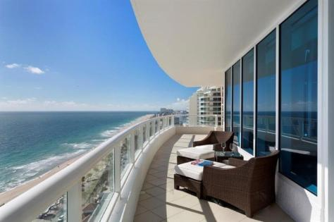 View luxury Fort Lauderdale oceanfront condo for sale