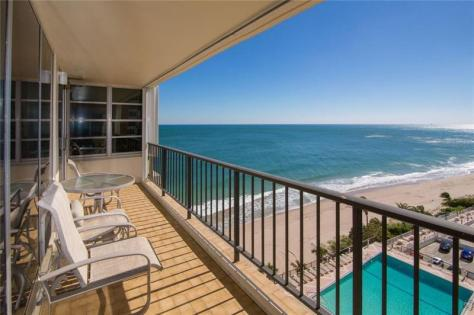 View Galt Ocean Mile condo recently sold Plaza South - Unit 10N