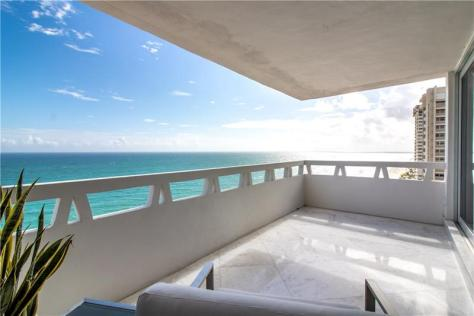 View luxury Galt Ocean Mile condo recently sold Fountainhead 3900 N Ocean Drive - Unit 15D & 15E