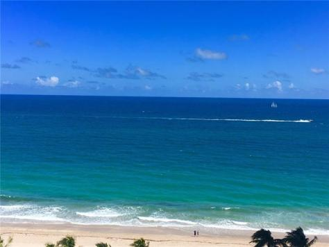 View Plaza East 4300 Galt Ocean Mile condo just listed for sale
