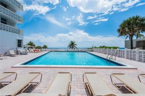 Pool views Galt Towers condo 4250 Galt Ocean Drive Fort Lauderdale