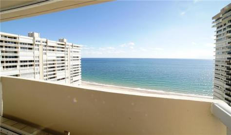 View Galt Ocean Mile condo recently sold Plaza East 4300 N Ocean Blvd - Unit 17A