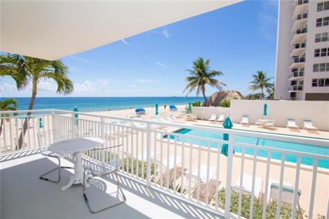 View 2 bedroom Galt Ocean Mile oceanfront condo for sale