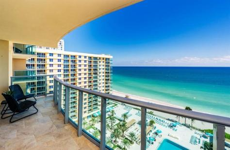 View 2 bedroom oceanfront pet friendly condo for sale in Greater Fort Lauderdale - this complex is in Hollywood and is a very popular and pet friendly complex!