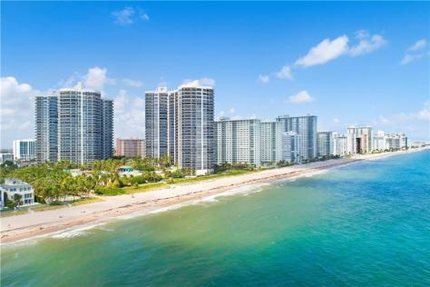 View L'Hermitage condominium Galt Ocean Mile 3100-3200 N Ocean Blvd Fort Lauderdale