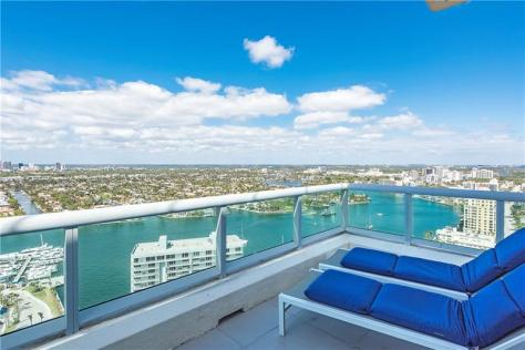 View luxury Fort Lauderdale waterfront condo for sale