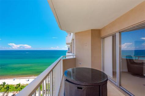 View 2 bedroom Fort Lauderdale oceanfront condo recently sold