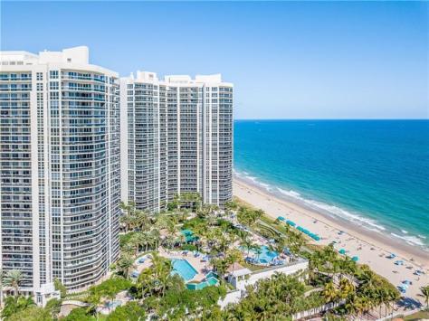 View Galt Ocean Mile condominium L'Hermitage 3100-3200 N Ocean Blvd Fort Lauderdale