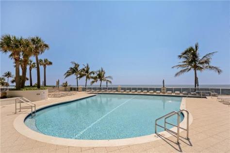 Pool views Galt Ocean Mile condo for sale L'Ambiance 4240 Galt Ocean Drive Fort Lauderdale