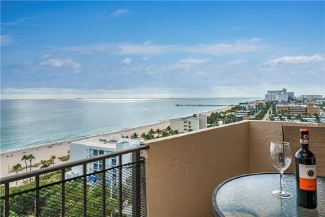 View 2 bedroom Fort Lauderdale oceanfront condo recently sold Lauderdale by the Sea