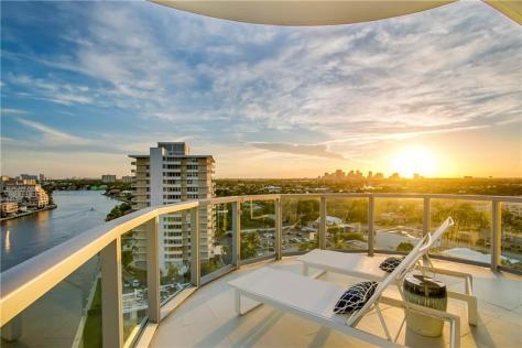 View 3 bedroom luxury Fort Lauderdale waterfront condo for sale