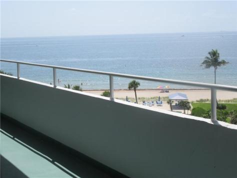 View 2 bedroom Carobie condo for sale 4050 N Ocean Drive Lauderdale by the Sea