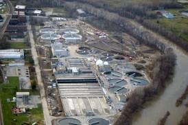 Pollution Control Plant Aerial