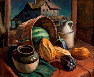 William Kaeser, Fall Harvest, 1940