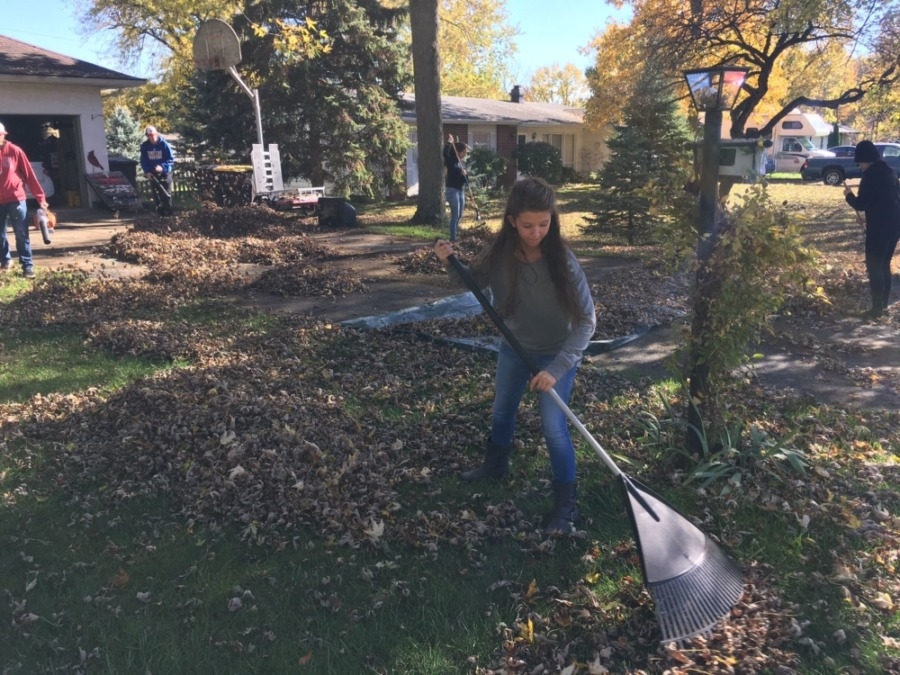 NeighborLink Leaf Raking Assistance