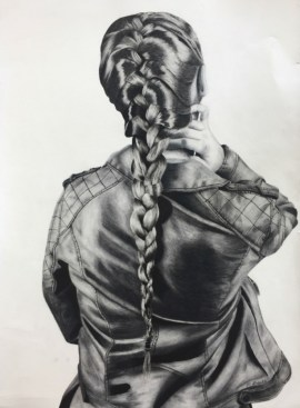 Bryan MHS_Grube_McKenna_Drawing and Illustration_Leather and Braid