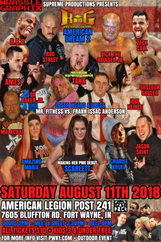 Upcoming Wrestling Event – Post 241 Fundraiser
