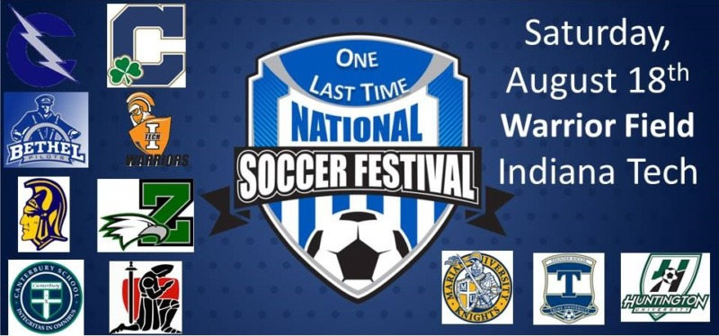 National Soccer Festival August 17th & 18th