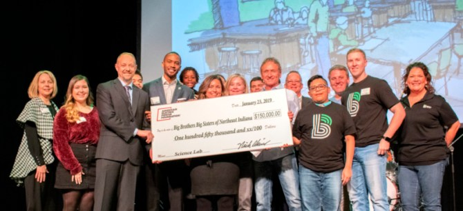 bbbs receives 150k from im aep