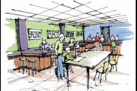 bbbs science lab rendering