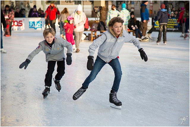 Headwaters Park Ice Skating Rink Concludes Season