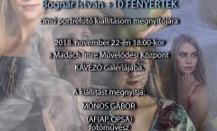 Bognár István +10 Fényérték portréfotó kiállítás