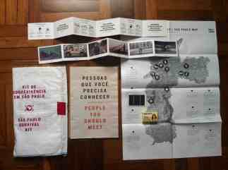 """One of the early prototypes, a """"survival kit"""" for the city of São Paulo"""