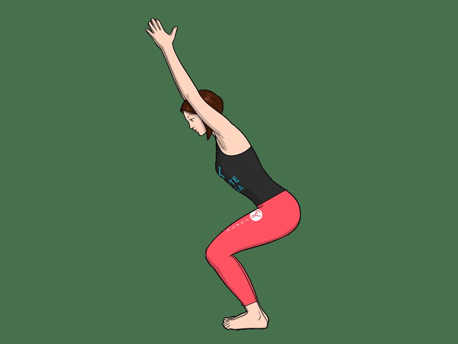 Chair Yoga Pose  Forte Yoga